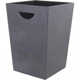 Faux Stingray Leather Bin