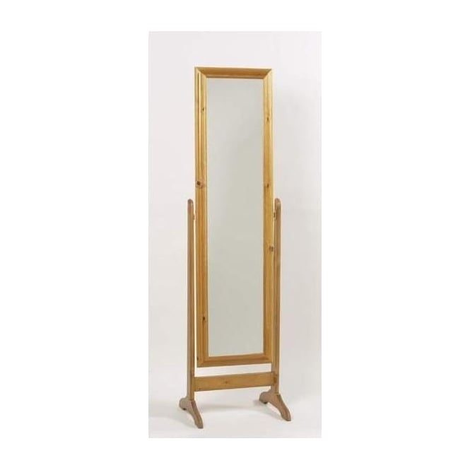 Feverfew Antique French Cheval Mirror