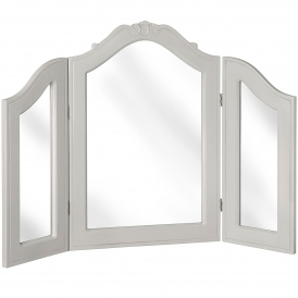 Fleur 3 Way Shabby Chic Dressing Mirror