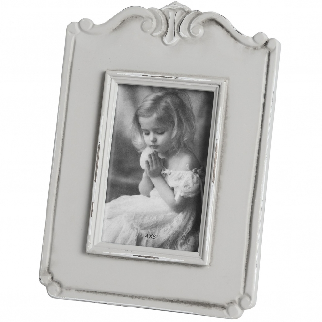 Fleur Medium Shabby Chic Photo Frame