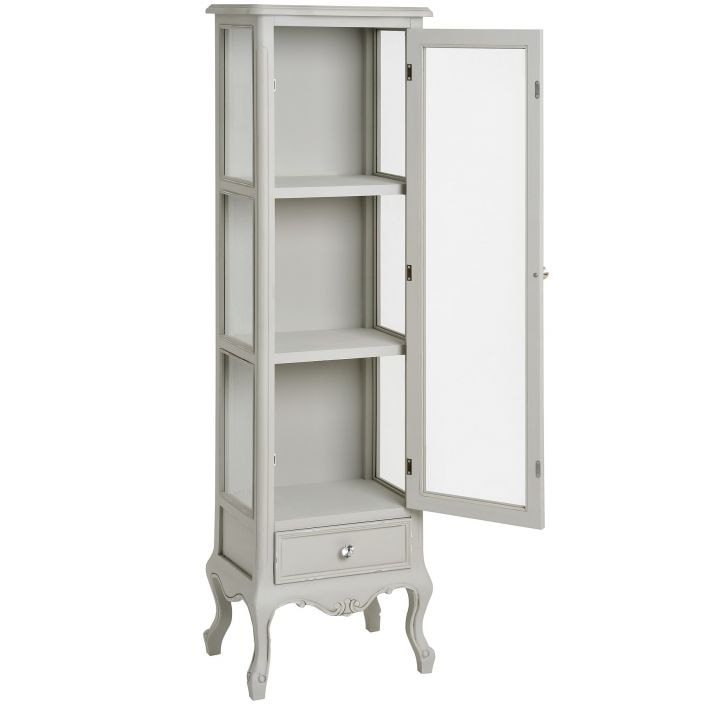 Merveilleux Fleur Shabby Chic Display Cabinet