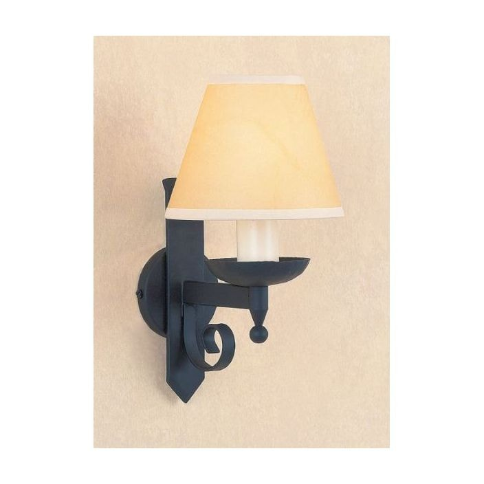 Forge antique french style matt black wall light 2 wall lights forge antique french style matt black wall light 2 aloadofball Images