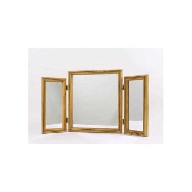 Fort Antique French Style Triple Mirror