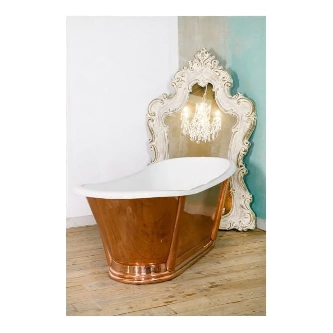 Freestanding Copper Bath