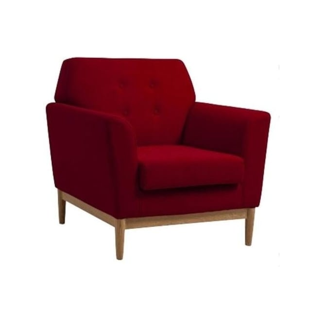 Fremont Red Armchair