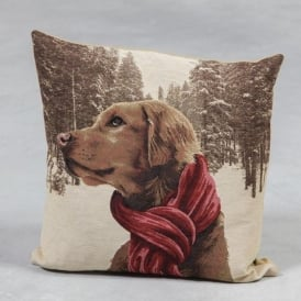 French Pointer Tapestry Cushion