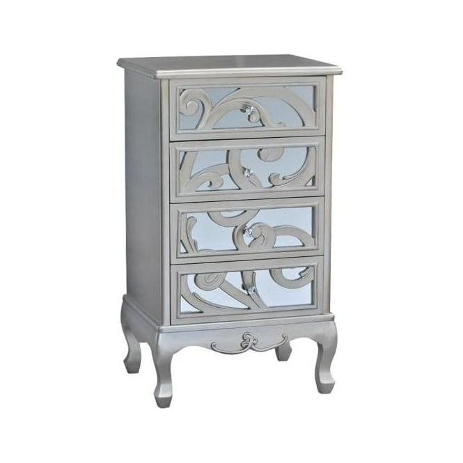 Freted Antique French Style Chest of Drawers