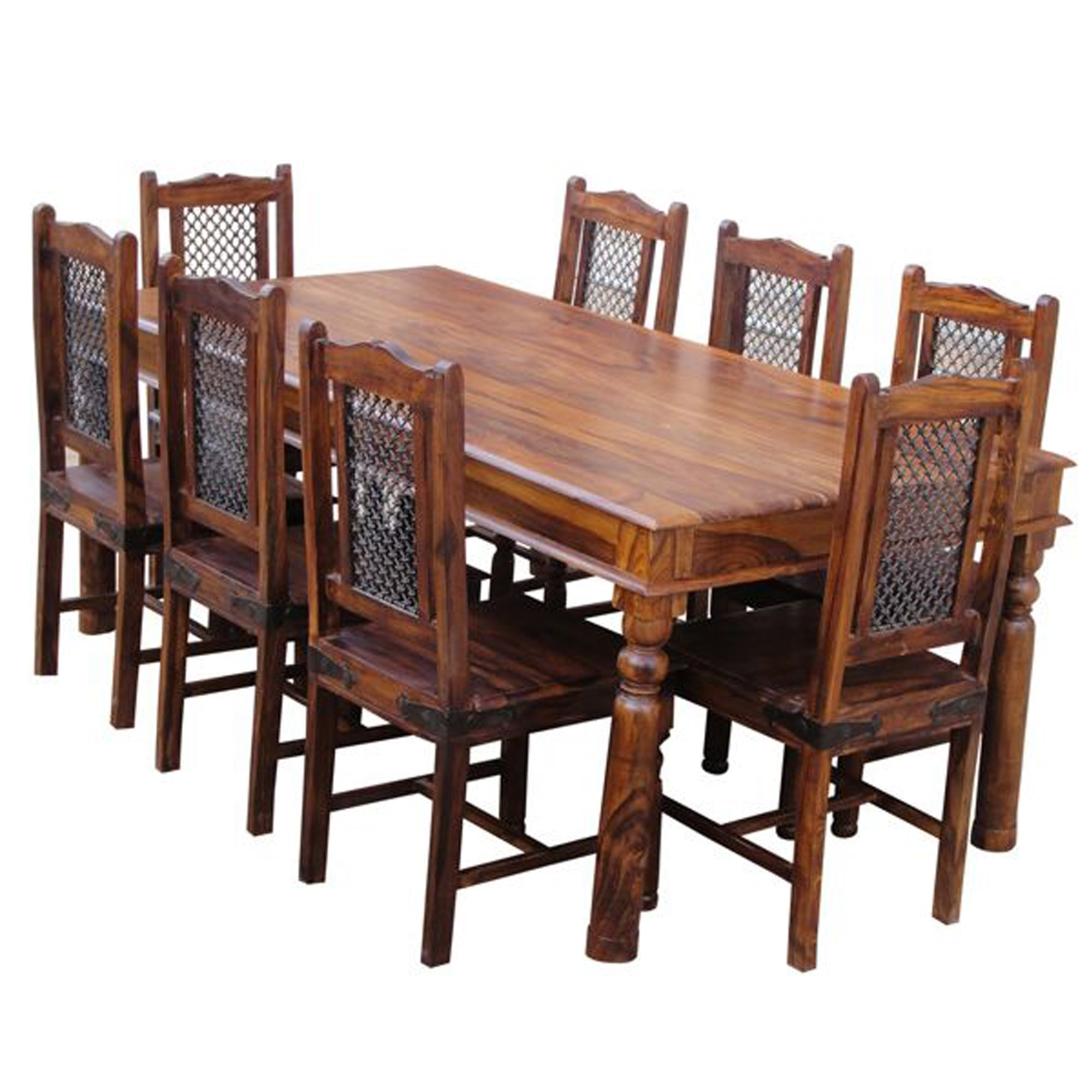 Ganga Extra Large Dining Table Wooden Dining Tables Dining Tables