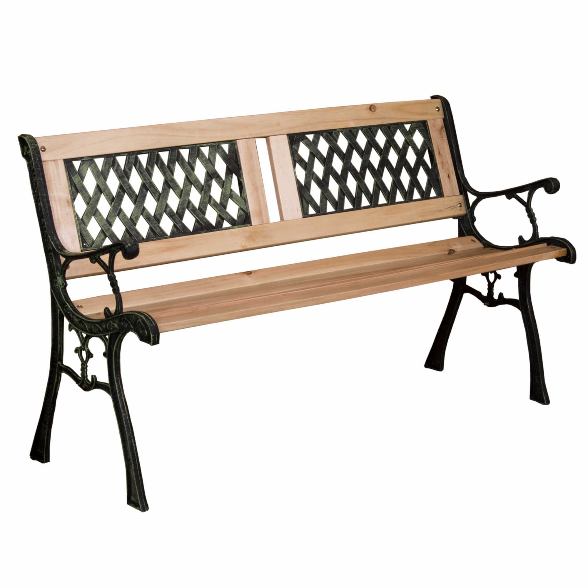Groovy Garden Bench Twin Cross Style Ncnpc Chair Design For Home Ncnpcorg