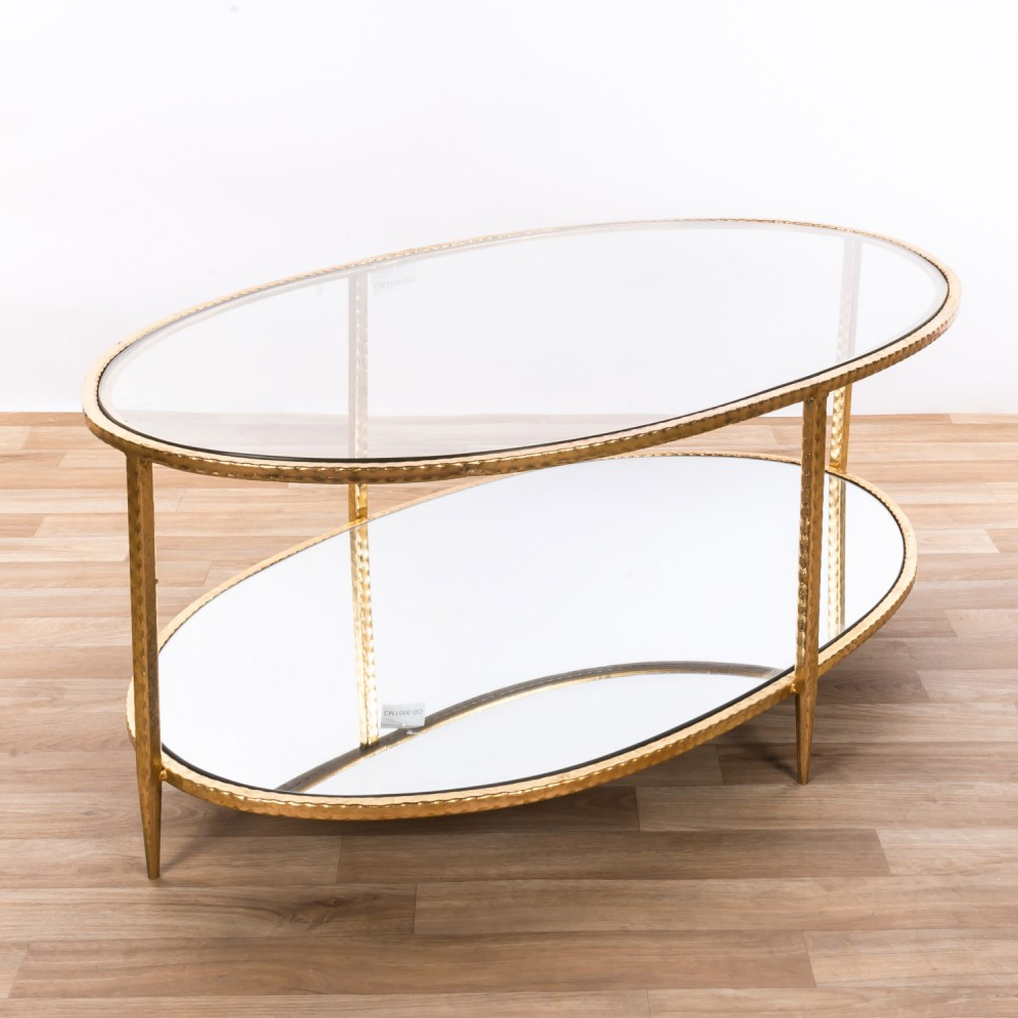 Gin Shu Gold Mirrored Coffee Table Coffee Tables