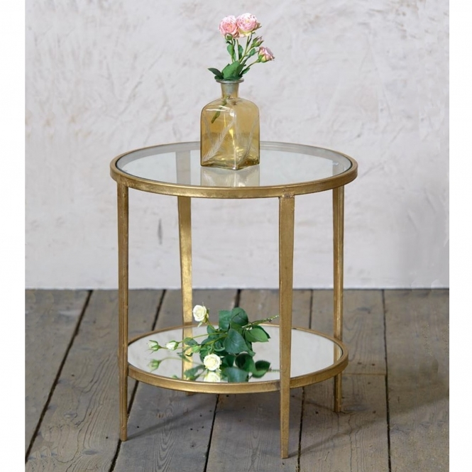 Gin Shu Parisienne Circular Metal Table