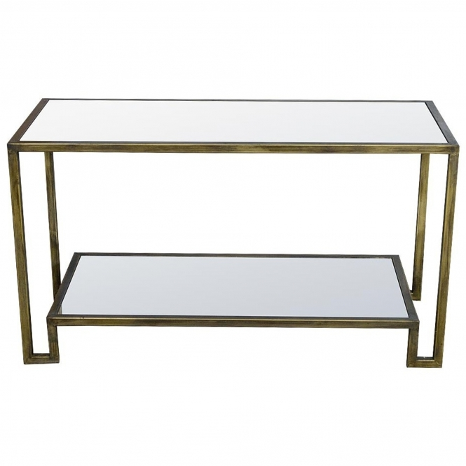 Gin Shu Parisienne Metal Coffee Table
