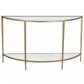 Gin Shu Parisienne Semi-Circle Table