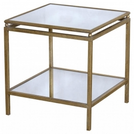 Gin Shu Parisienne Small Metal Table