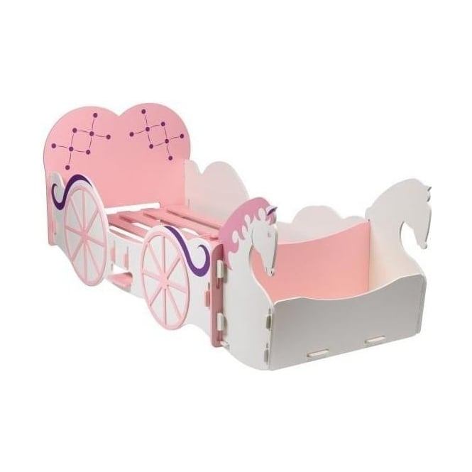 Girls Horse & Carriage Bed