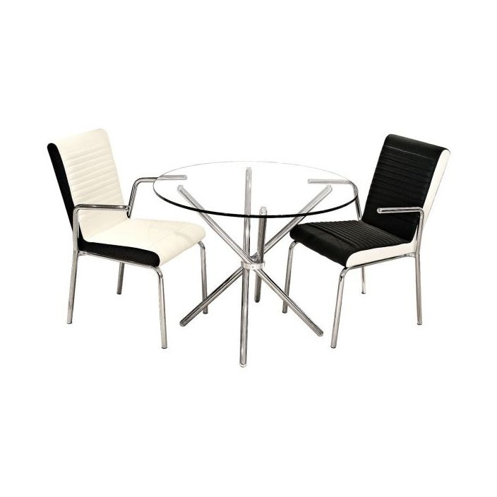 Glass Top Dining Table Glass Dining Furniture Round Glass Table