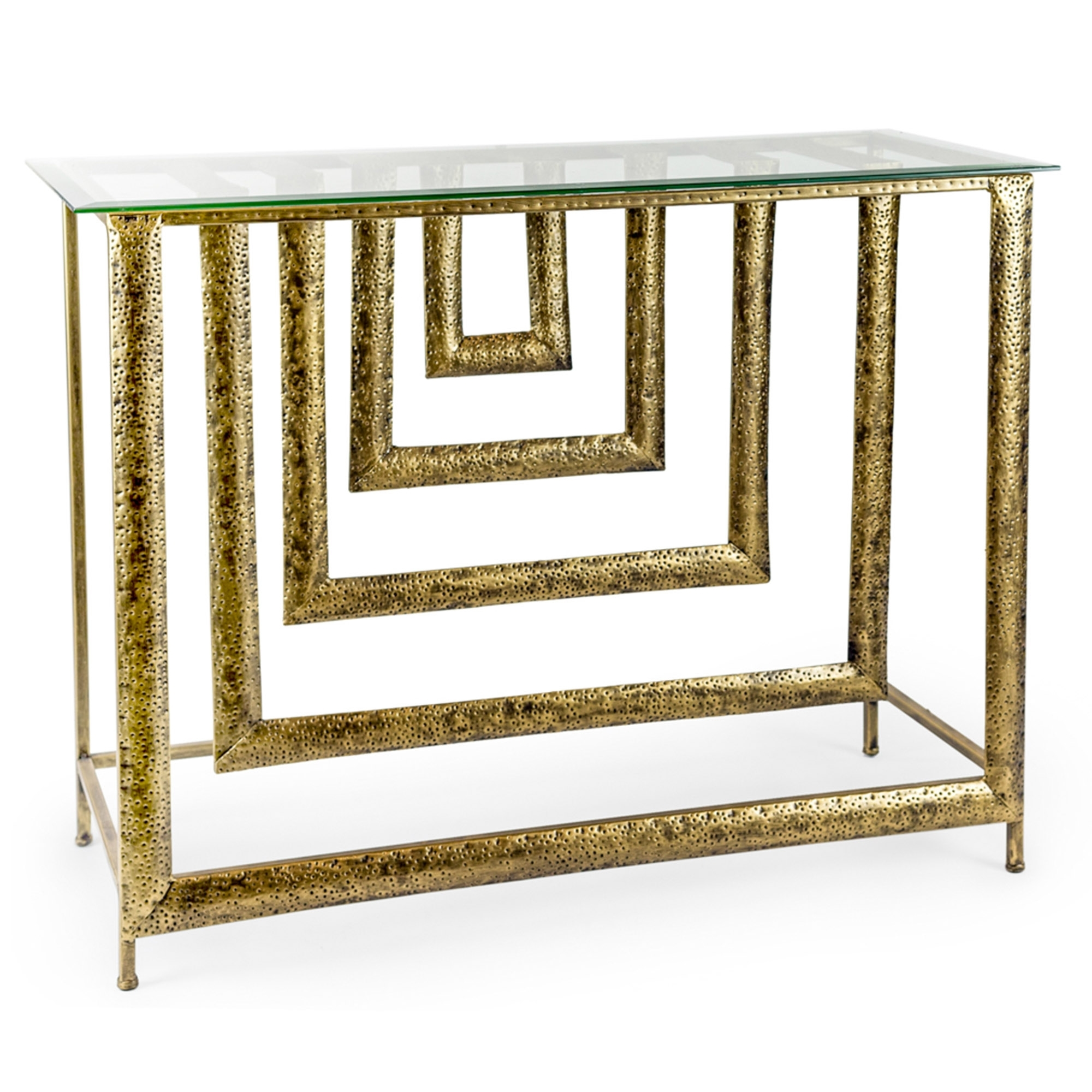 Glass Top Gold Metal Dimensions Console Table Metal Glass Furniture