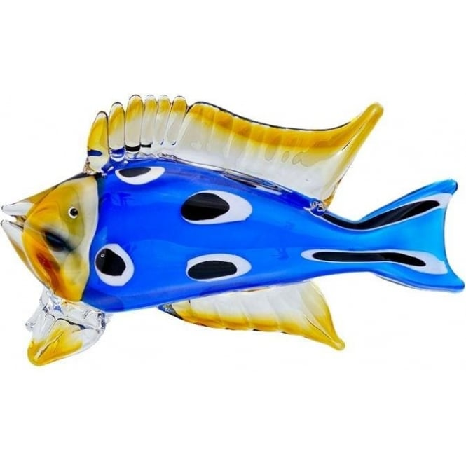Glass Tropical Fish Ornament