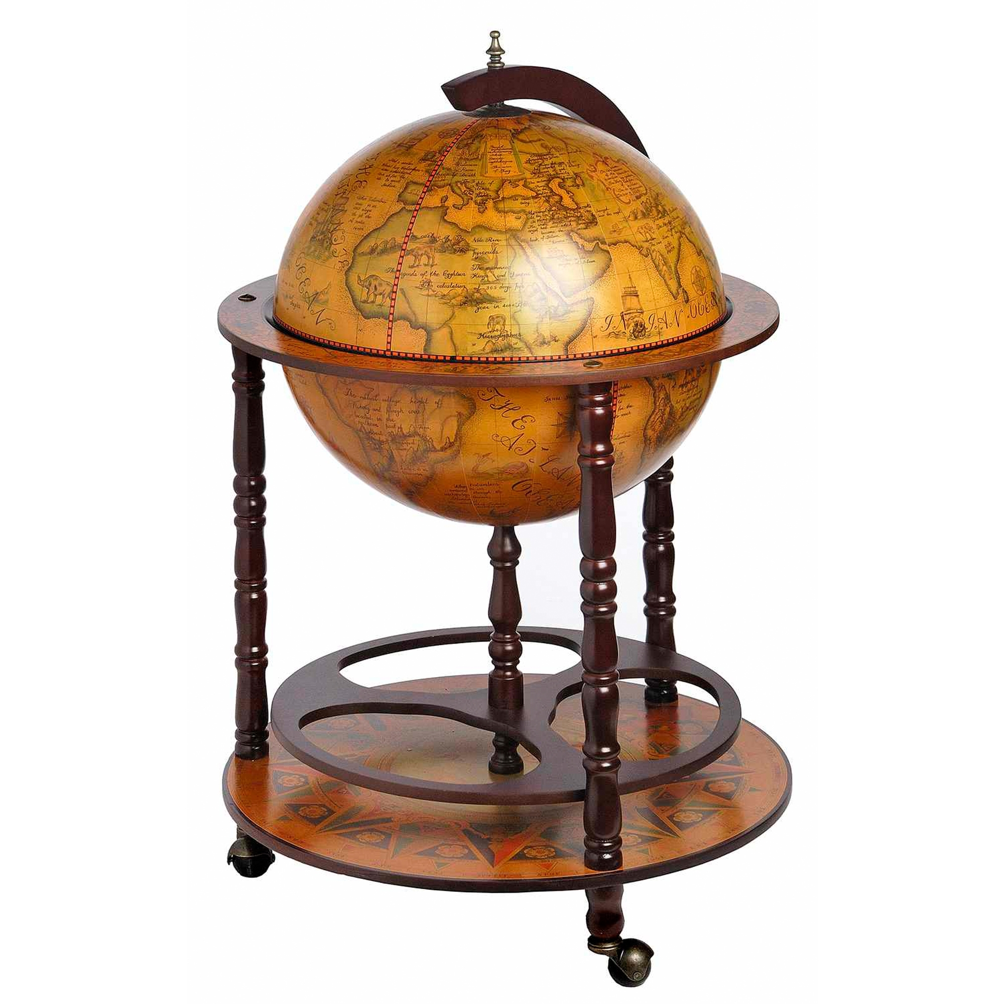 Globe Drinks Cabinet Antique Uk