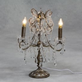 Gold Antique French Style Candelabra