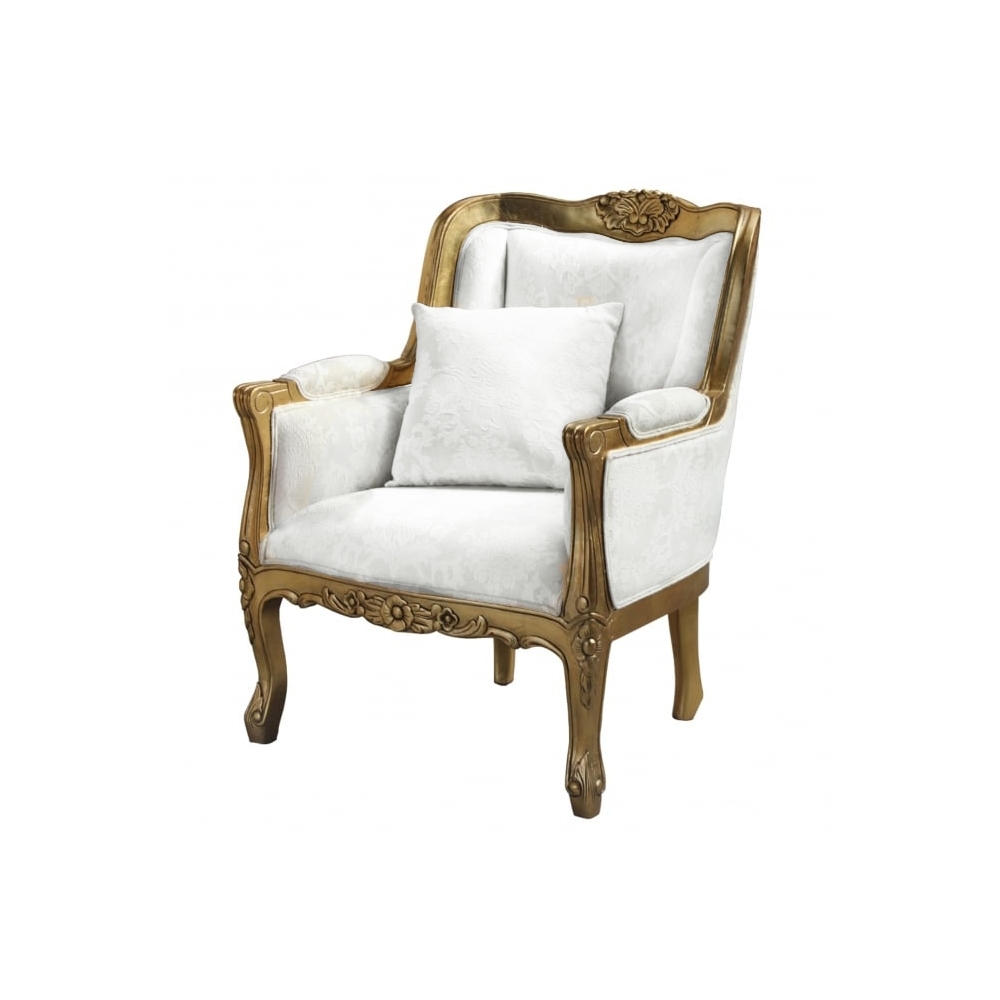 Gold Antique French Style Chair