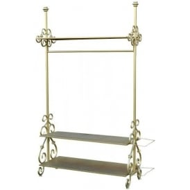 Gold Antique French Style Coat Stand