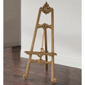 Gold Antique French Style Easel