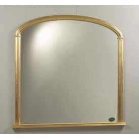Gold Antique French Style Overmantle Mirror