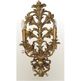 Gold Antique French Style Wall Light