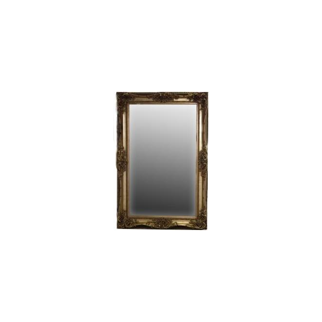 Gold Antique French Style Wall Mirror