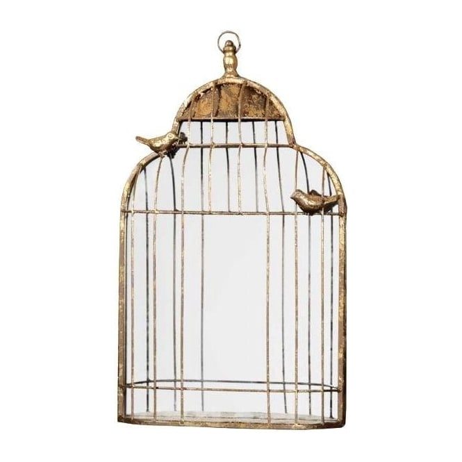Gold Bird Cage Shabby Chic Mirror French Style Mirrors