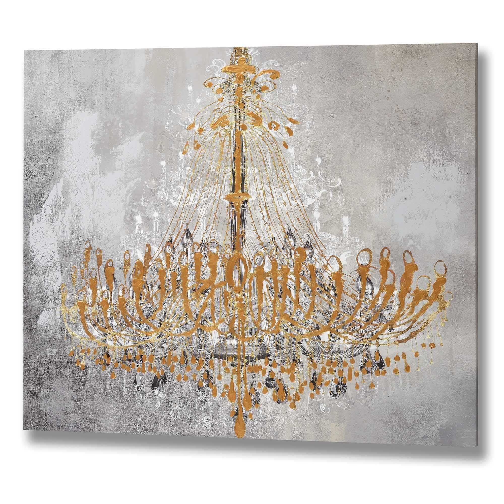 chandelier chairish french art solid crystal hollywood deco s and bronze product regency