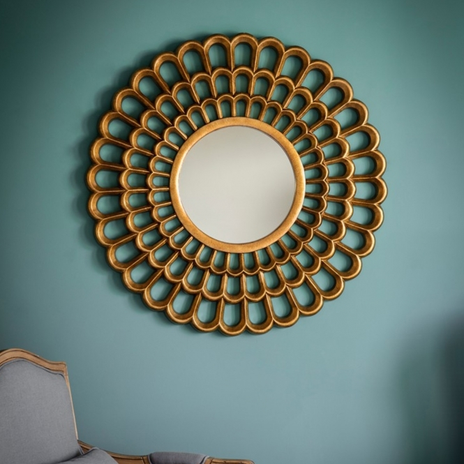 Gold Claremont Mirror
