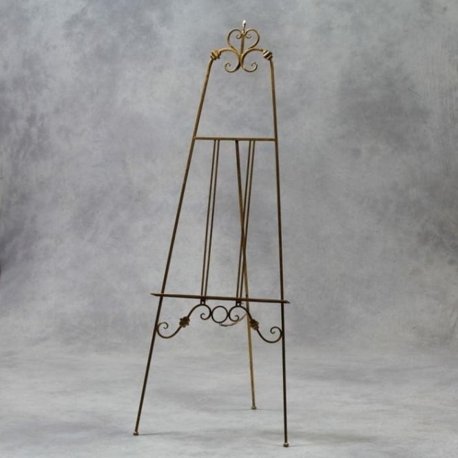 Gold Large Antique French Style Easel