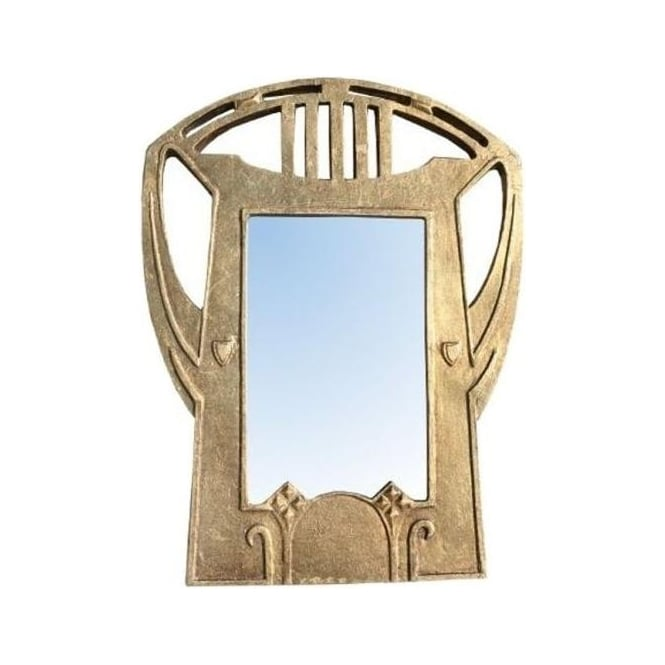 Gold Leaf Antique French Style Mirror