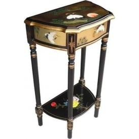 Gold Leaf Antique French Style Stand