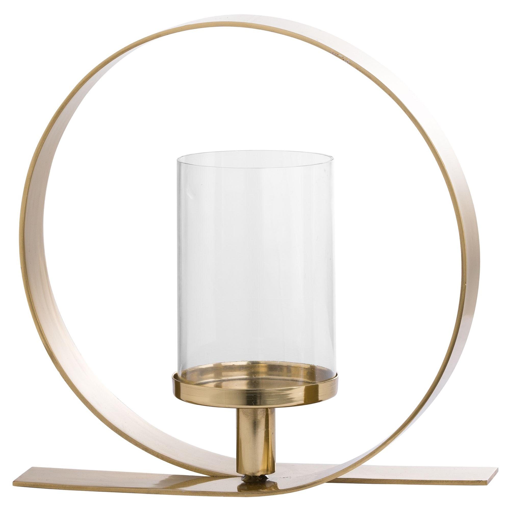 Gold Loop Design Candle Holder Gold Candle Holder Candle Holder