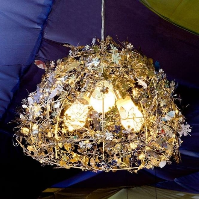 Gold Orchard Chandelier