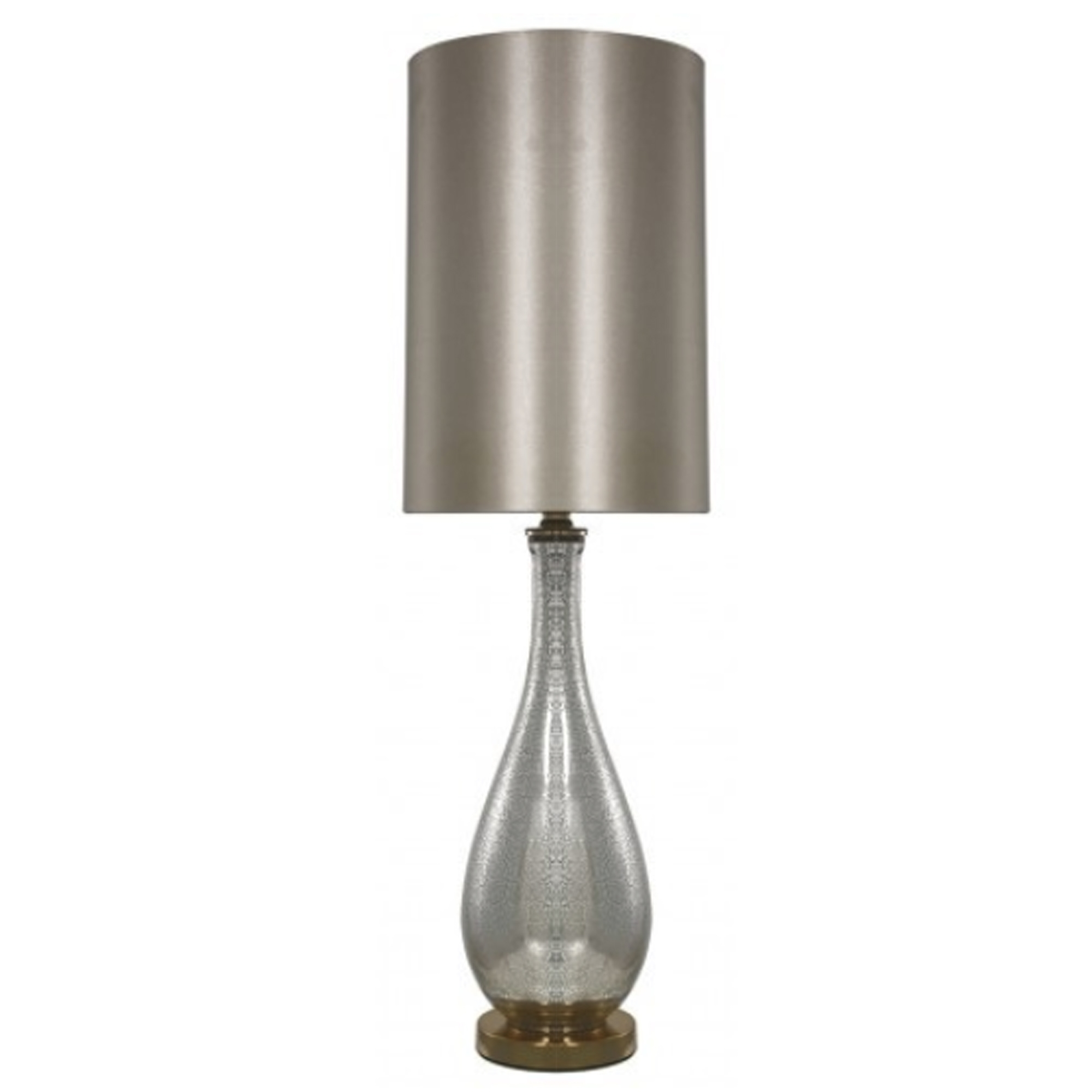 Gold & Silver Mercury Table Lamp