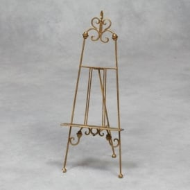 Gold Small Antique French Style Easel