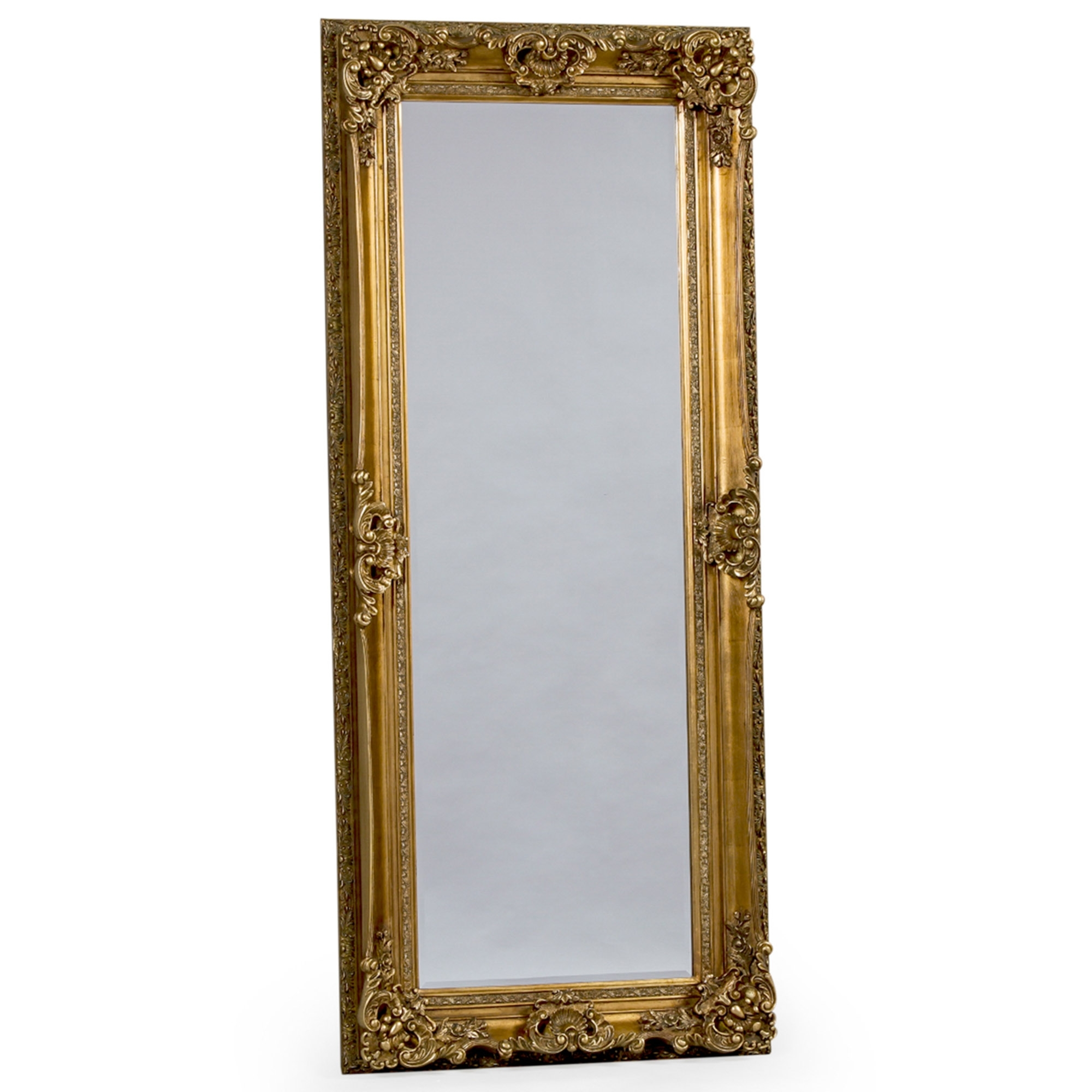 Gold Tall Antique French Style Mirror French Mirrors Online