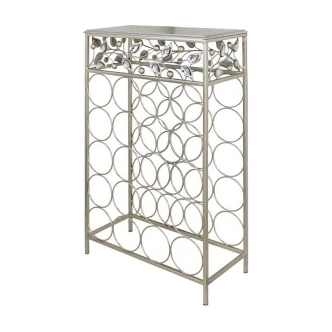 Golden Blossom Large Wine Rack