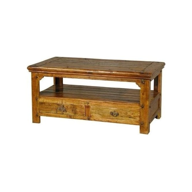 Granary Coffee Table 4 Drawer