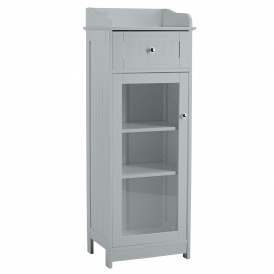 Grey Alaska Bathroom Cabinet