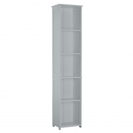 Grey Alaska Tall Storage Unit