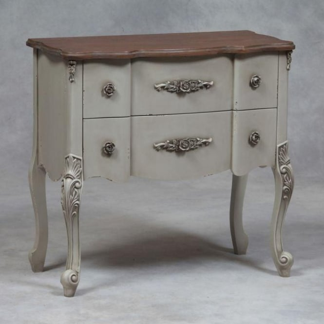 Grey Antique French Style Chest