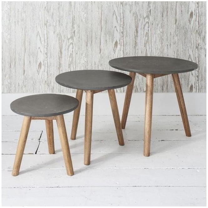 Grey Bergen Nest of Tables