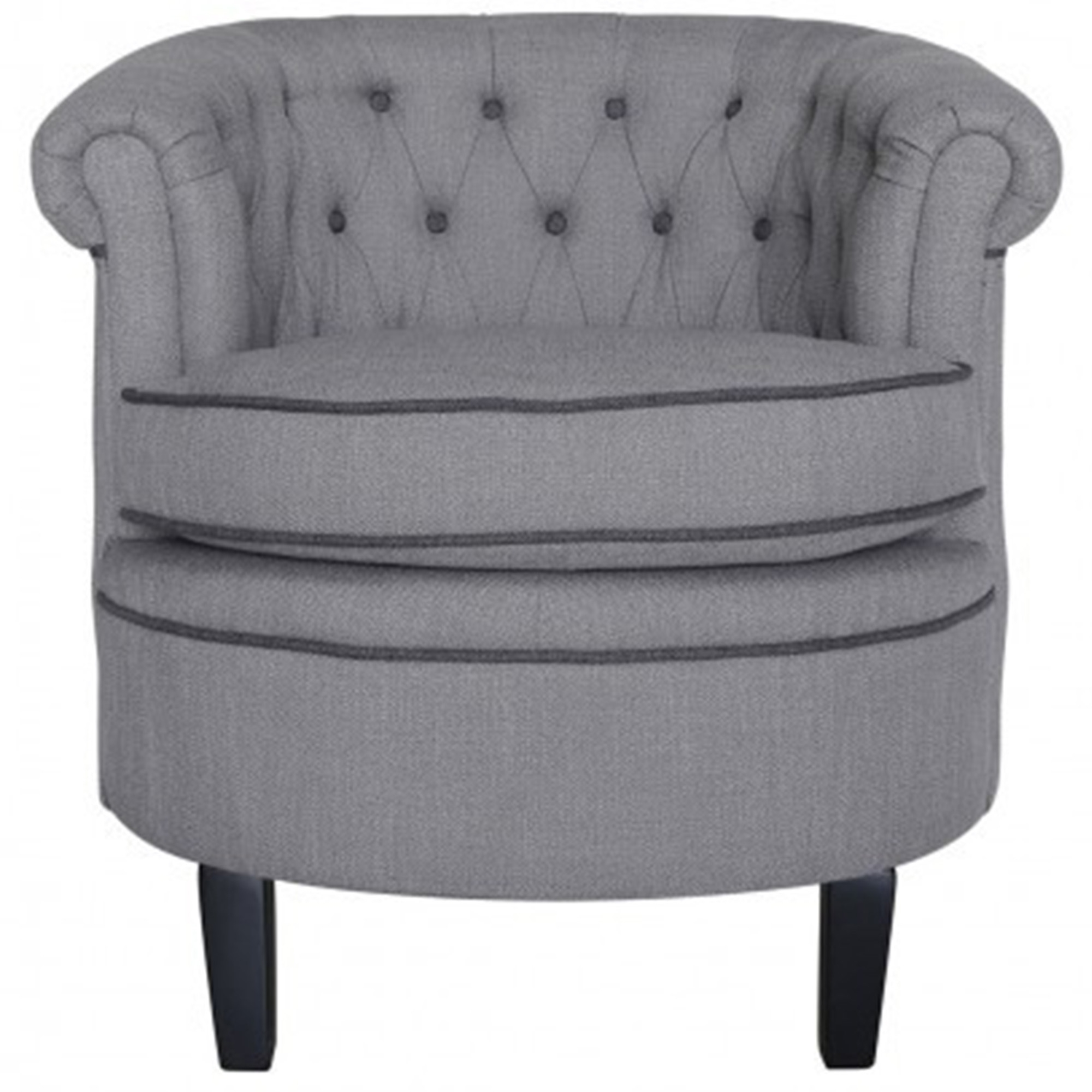 Grey Carter Occasional Chair Contemporary Modern Furniture From
