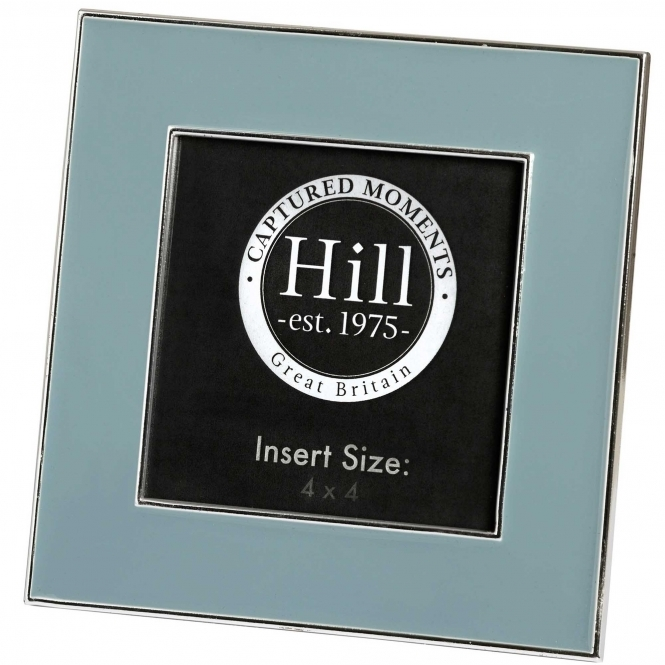 Grey Ceramic Square Photo Frame