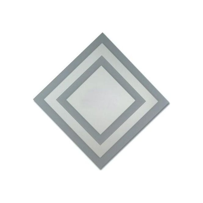 Grey Diamond Mirror